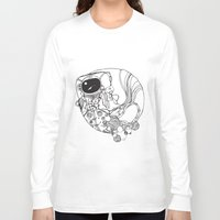 spaceman Long Sleeve T-shirts featuring Spaceman by Xadrea