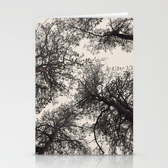 tree tops Stationery Cards