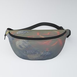 Turtles and Fish in the Water Fanny Pack