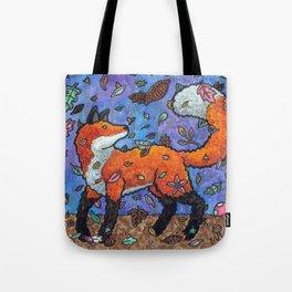 Fantasy Forest Fox Tote Bag