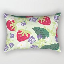 Strawberrie patten Rectangular Pillow