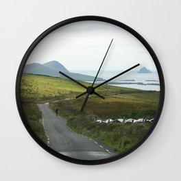 Slea Head Drive Wall Clock