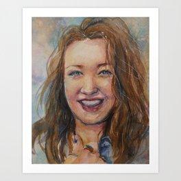 Remembering Annie Art Print
