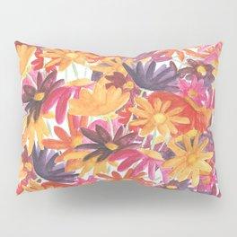 Sunset Flower Pillow Sham