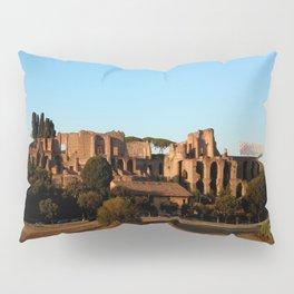 Roman ruin in Rome photography Pillow Sham