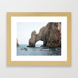 The Arch in Los Cabos Mexico Framed Art Print