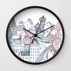 Smalltown Silence Wall Clock