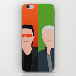 U 2 - Bono, the Edge, Adam Clayton, Larry Mullen Jr iPhone Skin