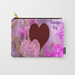 Happy Valentine`s Day Carry-All Pouch