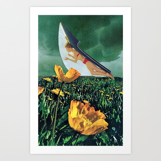oruga do monte Art Print