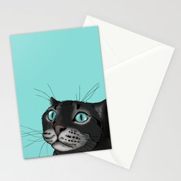 Lenny the Blue Eyed Cat Stationery Cards