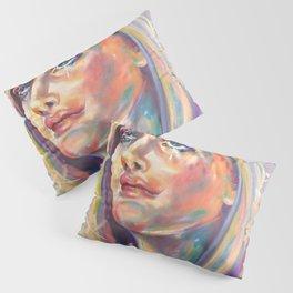 Saint Claire of Assisi, potrait Pillow Sham