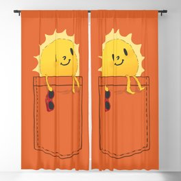 Pocketful of sunshine Blackout Curtain