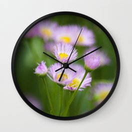 Wildflowers Wall Clock