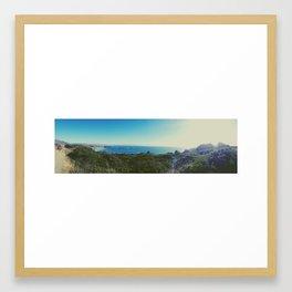 california beach Framed Art Print