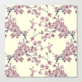 Delicate  Sakura. Canvas Print