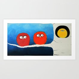 I want to take you home. Art Print