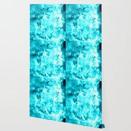 Turquoise Blue Carina Nebula Wallpaper