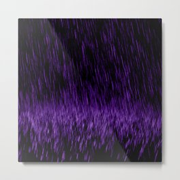 Violet Precipitation - a Prince 0(+> tribute Metal Print