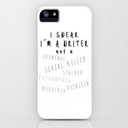 Writing Life iPhone Case