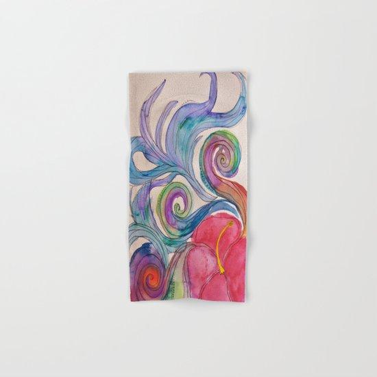 Hibiscus Explosion Hand & Bath Towel