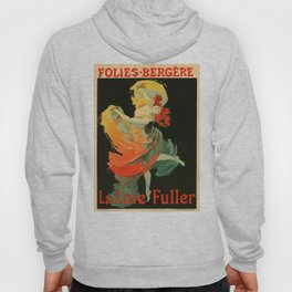 Belle Epoque vintage poster, Folies Bergere, La Loie Fuller Hoody