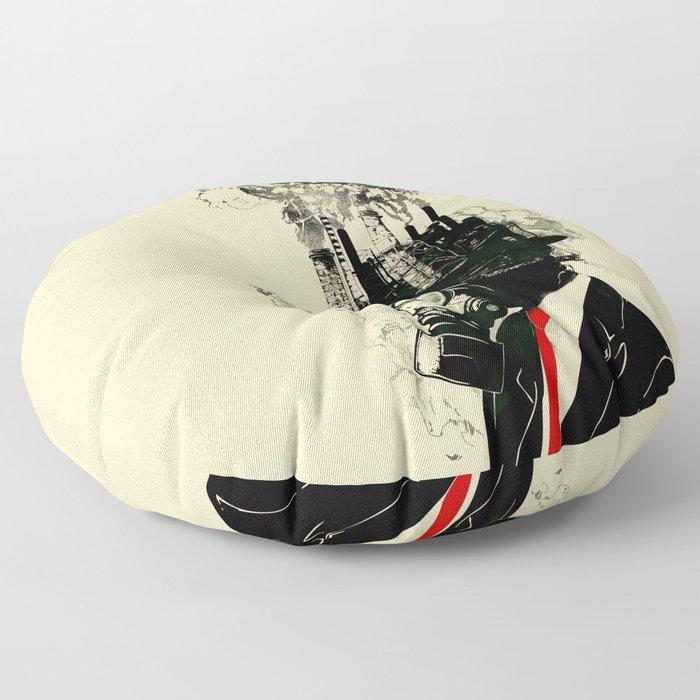 Businessman Floor Pillow