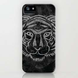 Tiger Lines iPhone Case