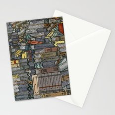 Closed Books Stationery Cards