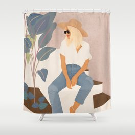 Morning Moment  Shower Curtain