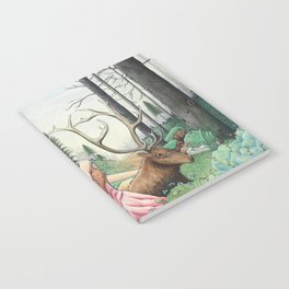 The Queen of the forest Notebook