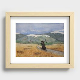 Pesta - a painting of the Plague Recessed Framed Print