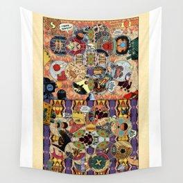 Coming Princess Wall Tapestry