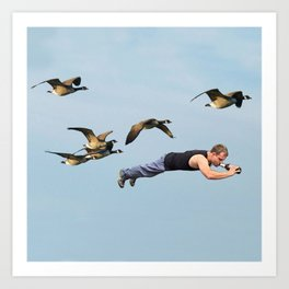 Taking Flight II Art Print