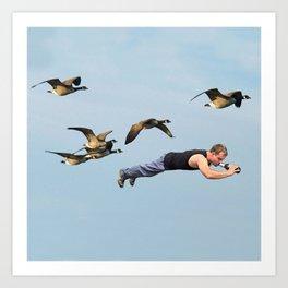Taking Flight II Art Print