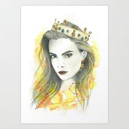 Zodiac - Leo Art Print