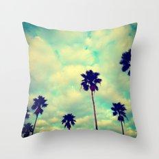 More Palms Throw Pillow