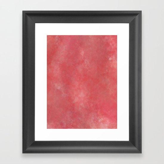 Cherry Bomb Framed Art Print