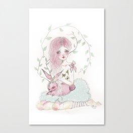 Dreamy Jackalope  Canvas Print