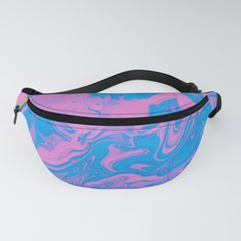 Cotton Candy Art Fanny Pack