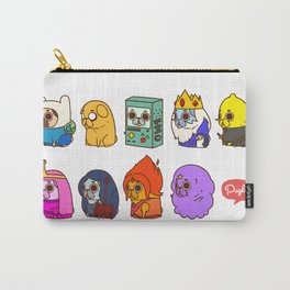 Pugventure Time! Carry-All Pouch