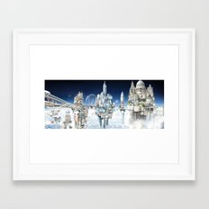 The Towers of London Framed Art Print