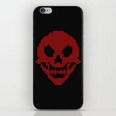 Pixel Skull iPhone & iPod Skin
