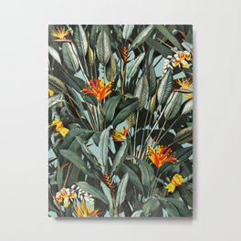 Midnight Garden VIII Metal Print