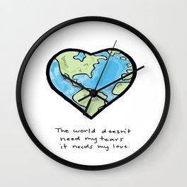 Worldly Love Wall Clock