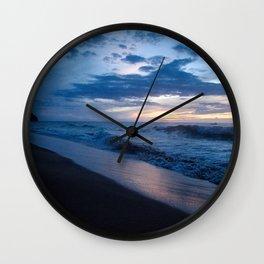 magic hour at kalalau Wall Clock