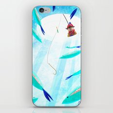 Ice Fisher's Nap iPhone & iPod Skin