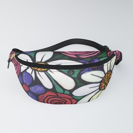 Pitcher of Flowers Fanny Pack