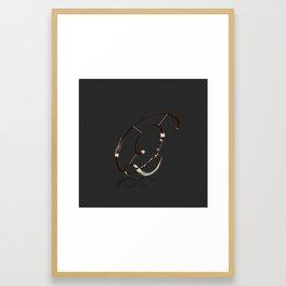Alphabet Orchestra - Q Framed Art Print