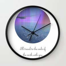 I'll travel with you Wall Clock